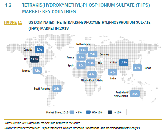 909747_4.2 TETRAKIS(HYDROXYMETHYL)PHOSPHONIUM SULFATE (THPS) MARKET KEY COUNTRIES_FIGURE 11