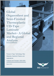 Global Organosheet and Semi-Finished Thermoplastic UD-Tape Laminate Market - A Global and Regional Analysis: Focus on Type, Technology, Raw Materials, Sandwich Panels, and Applications - Analysis and Forecast, 2020-2030
