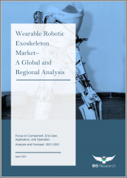 Wearable Robotic Exoskeleton Market - A Global and Regional Analysis: Focus on Component, End User, Application, and Operation - Analysis and Forecast, 2021-2031