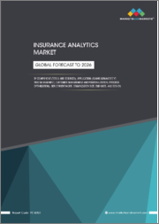 Insurance Analytics Market by Component (Tools and Services), Application (Claims Management, Risk Management, Customer Management & Personalization, Process Optimization), Deployment Mode, Organization Size, End User, & Region - Global Forecast to 2026