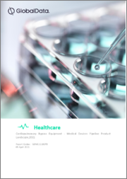 Cardiopulmonary Bypass Equipment - Medical Devices Pipeline Product Landscape, 2021
