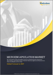 Microencapsulation Market by Coating Material (Polysaccharides, Proteins), Technology [Physico-Mechanical (Spray Drying, Coextrusion); Physico-Chemical; Chemical], Application (Pharmaceutical, Food), Core Material, & Core Form - Global Forecast to 2027
