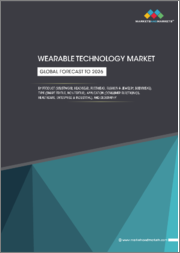 Wearable Technology Market by Product (Wristwear, Headwear, Footwear, Fashion & Jewelry, Bodywear), Type (Smart Textile, Non-Textile), Application (Consumer Electronics, Healthcare, Enterprise & Industrial), and Geography - Global Forecast to 2026