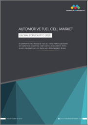 Automotive Fuel Cell Market by Component (Fuel Processor, Fuel Cell Stack, Power Conditioner, Air Compressor, Humidifier), Power Output, Hydrogen Fuel Stations, Vehicle Type (Passenger car, LCV, Truck, Bus),Operating Miles, Region-Global Forecast 2028