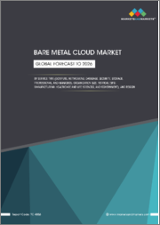 Bare Metal Cloud Market by Service Type (Compute, Networking, Database, Security, Storage, Professional, and Managed), Organization Size, Vertical (BFSI, Manufacturing, Healthcare and Life Sciences, and Government), and Region - Global Forecast to 2026