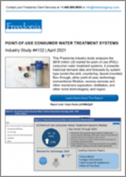 Point-of-Use Consumer Water Treatment Systems (US Market & Forecast)