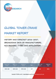 Global Tower Crane Market Report, History and Forecast 2016-2027