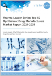 Pharma Leader Series - Top 50 Ophthalmic Drug Manufacturers Market Report 2021-2031: In-depth Analysis of Top 50 Ophthalmic Drug Manufacturers: Capabilities, Results, Competition and Sales Potentials