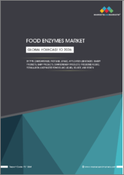 Food Enzymes Market by Type (Carbohydrases, Proteases, Lipases, Polymerases & Nucleases), Source, Application (Food & Beverages), Formulation, and Region(North America, Europe, Asia Pacific, and South America) - Global Forecast to 2026