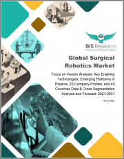 Global Surgical Robotics Market: Focus on Vendor Analysis, Key Enabling Technologies, Emerging Platforms in Pipeline, 26 Company Profiles, and 45 Countries Data & Cross Segmentation - Analysis and Forecast, 2021-2031