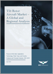 Tilt Rotor Aircraft Market - A Global and Regional Analysis: Focus on End-User, Application, Technology, Rotor Type, and Country - Analysis and Forecast Analysis, 2021-2031