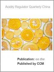 Acidity Regulator Quarterly China Report