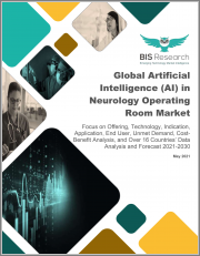 Global Artificial Intelligence (AI) in Neurology Operating Room Market: Focus on Offering, Technology, Indication, Application, End User, Unmet Demand, Cost-Benefit Analysis, and Over 16 Countries' Data - Analysis and Forecast, 2021-2030