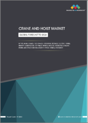 Crane and Hoist Market by Type (Mobile Cranes, Fixed Cranes), Operations (Hydraulic, Electric, Hybrid), Industry (Construction, Shipping & Material Handling, Automotive & Railway, Mining, Aerospace & Defense, Energy & Power) - Global Forecast to 2026