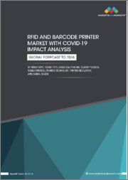 RFID and Barcode Printer Market with COVID-19 Impact Analysis by Printer Type, Format Type (Industrial Printers, Desktop Printers, Mobile Printers), Printing Technology, Printing Resolution, Application, and Region - Global Forecast to 2026