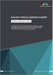Railway Wiring Harness Market by Application(HVAC, Lighting, Traction System, Infotainment), Material, Train (Metro/Monorail, Light Rail, HRS), Component (Wire, Connector), Voltage (High, Low), Cable, Wire length,End Use & Region-Global Forecast to 2026
