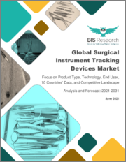 Global Surgical Instrument Tracking Devices Market: Focus on Product Type, Technology, End User, 10 Countries' Data, and Competitive Landscape - Analysis and Forecast, 2021-2031