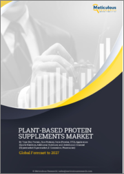 Plant-Based Protein Supplements Market by Type (Soy Protein, Rice Protein), Form (Powder, RTD), Application (Sports Nutrition, Additional Nutrition), and Distribution Channel (Hypermarket/Supermarket, E-Commerce, Pharmacies) - Global Forecast To 2027