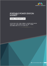 Portable Power Station Market by Power Source (Direct, Hybrid), Technology (Lithium-ion, Sealed lead-acid), Capacity (0-100, 100-200, 200-400, 400-1000, 1000-1500, >=1500Wh), Sales Channel (Online, Offline), Application, Region - Global Forecast to 2026