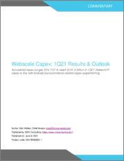 Webscale Capex - 1Q21 Results & Outlook: Annualized Capex Surges 29% YoY to Reach $141.5 Billion in 1Q21, Network/IT Capex in Line with Forecast but eCommerce-related Capex Outperforming