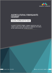 Agricultural Fumigants Market by Product Type (Methyl Bromide, Phosphine, Chloropicrin), Crop Type (Cereals, Oilseeds, Fruits), Application (Soil, Warehouse), Pest Control Method (Tarpaulin, Non-Tarp, Vacuum), and Region - Global Forecast to 2026