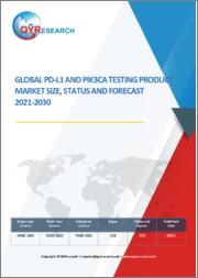Global PD-L1 and PIK3CA Testing Product Market Size, Status and Forecast 2021-2030