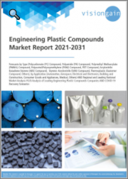 Engineering Plastic Compounds Market Report 2021-2031: Forecasts by Type (PC, PA, PMMA, POM, PBT, ABS, SAN, Thermoplastic Elastomer), by Application, Regional/Leading National Market Analysis, Leading Companies, COVID-19 Recovery Scenarios
