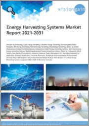 Energy Harvesting Systems Market Report 2021-2031: Forecasts by Technology, by System, by Components, by Application, Regional & Leading National Market Analysis, Leading Companies, COVID-19 Recovery Scenarios