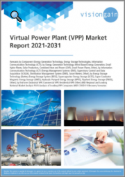 Virtual Power Plant (VPP) Market Report 2021-2031: Forecasts by Component, Energy Storage & Generation Technology, Information Communication Technology, End-user, Leading National Market Analysis, Leading Companies, COVID-19 Recovery Scenarios