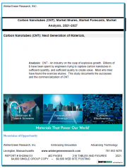 Carbon Nanotubes (CNT): Market Shares, Market Strategies and Market Forecasts, 2021 to 2027