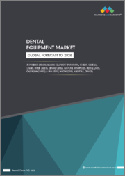Dental Equipments Market by Product (Dental Imaging Equipment (Panoramic, Sensor, Camera), Lasers, Diode Lasers, Dental Chairs, CAD/CAM, Handpieces, Dental Units, Casting Machines) & End User (Laboratories, Hospitals, Clinics)-Global Forecast to 2026