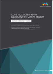 Construction & Heavy Equipment Telematics Market by Solution (Asset Tracking, Diagnostics, Fleet Safety), Industry (Construction, Mining, Tractor), Technology, Hardware, Form Factor, Vehicle Category & Region - Global Forecast to 2026