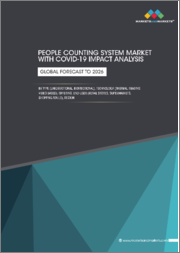 People Counting System Market with COVID-19 Impact Analysis by Type (Unidirectional, Bidirectional), Technology (Thermal Imaging, Video-Based), Offering, End-User (Retail Stores, Supermarkets, Shopping Malls), Region - Global Forecast to 2026