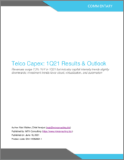 Telco Capex: 1Q21 Results & Outlook - Revenues Surge 7.3% YoY in 1Q21 but Industry Capital Intensity Trends Slightly Downwards, Investment Trends Favor Cloud, Virtualization, and Automation