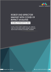Robot End Effector Market with COVID-19 Impact Analysis, by Type (Electric Grippers, Vacuum Cups, Tool Changers), Robot Type, Application (Handling, Assembly, Processing), Industry (Food & Beverage, E-Commerce), and Region - Global Forecast to 2026