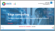 Edge Computing - The Battle Between Cloud Providers, Industrials and Telcos Continues
