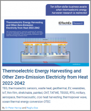 Thermoelectric Energy Harvesting and Other Zero-Emission Electricity from Heat 2022-2042