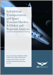 Sub-Orbital Transportation and Space Tourism Market - A Global and Regional Analysis: Focus on End User, Application, Flight Vehicle Type, System, and Country - Analysis and Forecast, 2021-2031