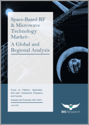 Space-Based RF & Microwave Technology Market - A Global and Regional Analysis: Focus on Platform, Application, End User, Component, Frequency and Country - Analysis and Forecast, 2021-2031