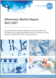 ePharmacy Market Report 2021-2031: Forecasts by Product (Prescription Medicine/Rx, Over-the-Counter/OTC), Regional and Leading National Market Analysis, Leading ePharmacy Companies, and COVID-19 Recovery Scenarios