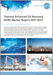 Thermal Enhanced Oil Recovery (EOR) Market Report 2021-2031: Forecasts by Spending, by End-Product, by Technology, by Method, Regional & Leading National Market Analysis, Leading Companies, and COVID-19 Recovery Scenarios