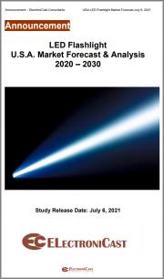 LED Flashlight U.S.A. Market Forecast & Analysis 2020 - 2030