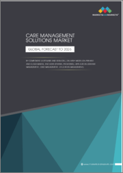 Care Management Solutions Market by Component (Software and Services), Delivery Mode (On-Premise and Cloud-Based), End User (Payers, Providers), Application (Disease Management, Case Management, Utilization Management) - Global Forecast to 2026