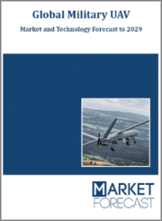 Global Military UAV - Market and Technology Forecast to 2029: By Region, Technology, Propulsion, Endurance, MTOW, Range, Launching System, Application, End User, Market & Technologies Overview, Market Dynamics, Events Forecast, Leading Companies