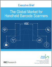 The Global Market for Handheld Barcode Scanners