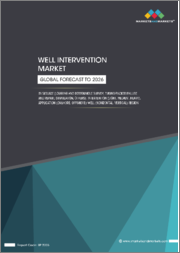 Well Intervention Market by Service (Logging and Bottomhole Survey, Tubing/Packer Failure and Repair, Stimulation), Intervention (Light, Medium, Heavy), Application (Onshore, Offshore) Well (Horizontal, Vertical) Region - Global Forecast to 2026