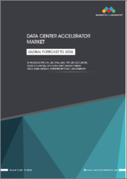 Data Center Accelerator Market by Processor Type (CPU, GPU, FPGA, ASIC), Type (HPC Accelerator, Cloud Accelerator), Application (Deep Learning Training, Public Cloud Interface, Enterprise Interface), and Geography - Global Forecast to 2026