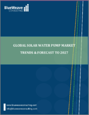 Global Solar Water Pumps Market- By Type ; By Output Range ; By Operation ; By Application ; By Region ; Trend Analysis, Competitive Market Share & Forecast, 2017-2027