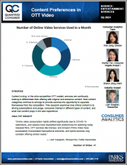 Content Preferences in OTT Video