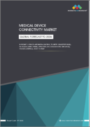 Medical Device Connectivity Market by Product & Services (Integration Solutions, Telemetry, Connectivity Hubs), Technology (Wired, Hybrid), Application (Vital signs Monitors, Ventilators), End User (Hospitals), COVID-19 Impact - Global Forecast to 2026
